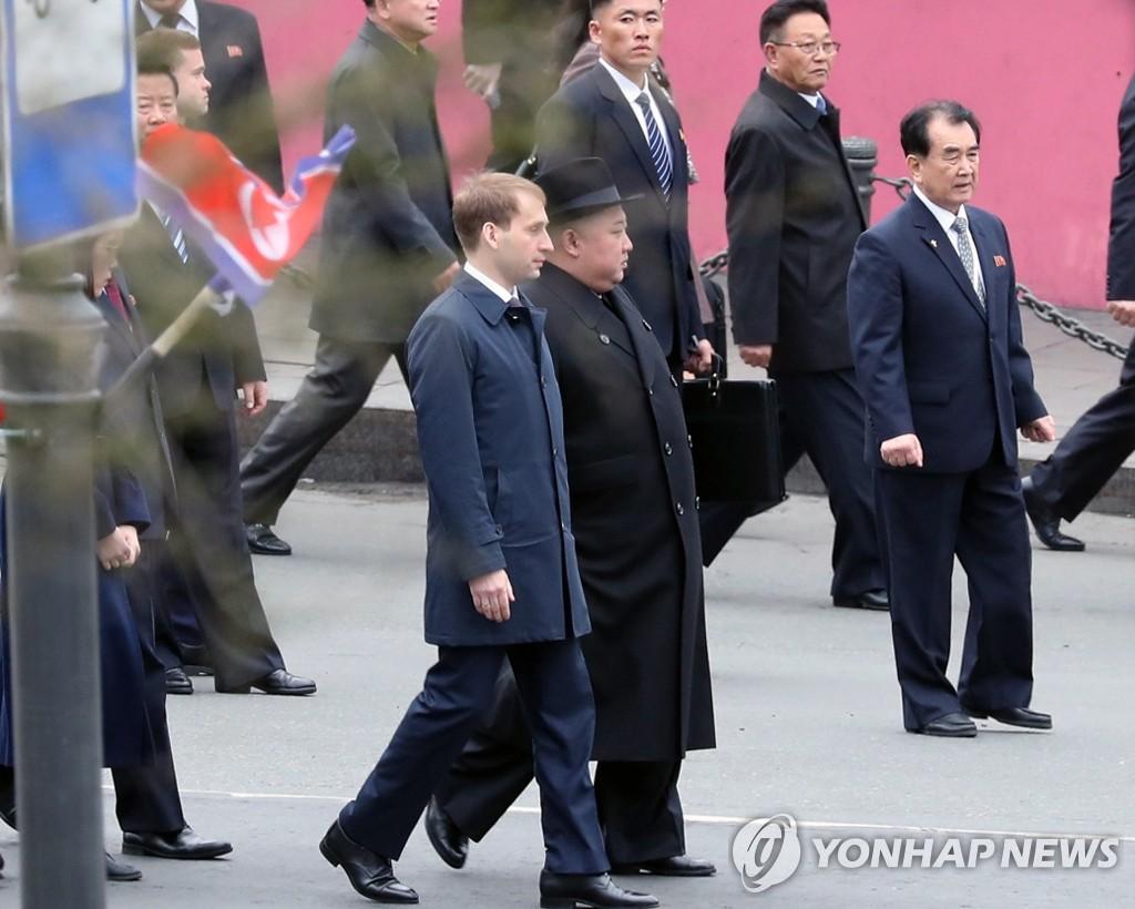 详讯:金正恩抵达俄罗斯符拉迪沃斯托克