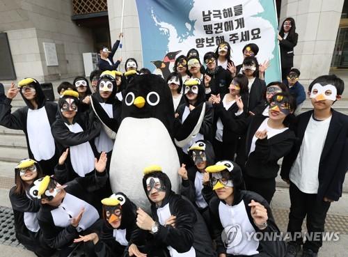 纪念世界企鹅日