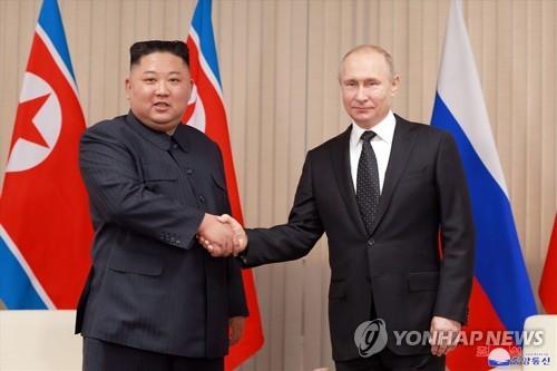 金正恩致电普京祝贺俄罗斯国庆