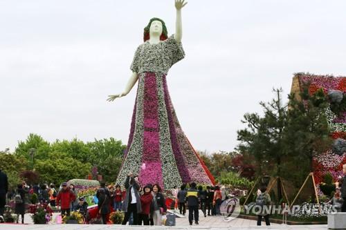 2019高阳国际花卉博览会开幕