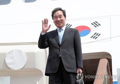 韩总理将出访亚洲中东四国