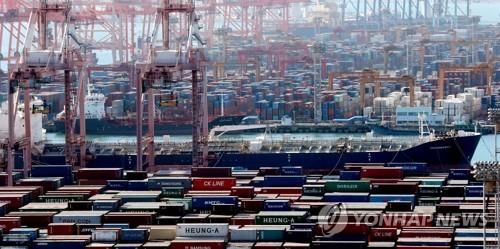 详讯:韩9月出口同比减少11.7%