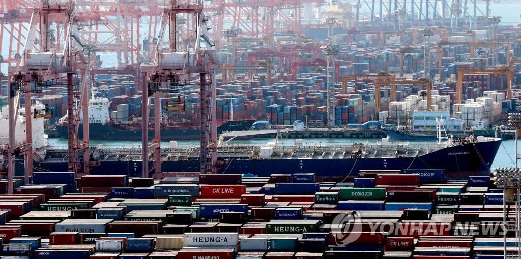 韩9月出口同比减少11.7%