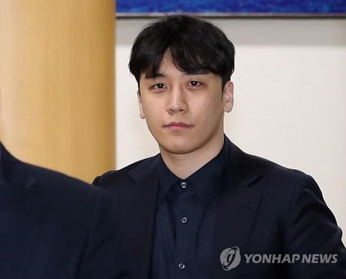 韩国警方今提请逮捕胜利