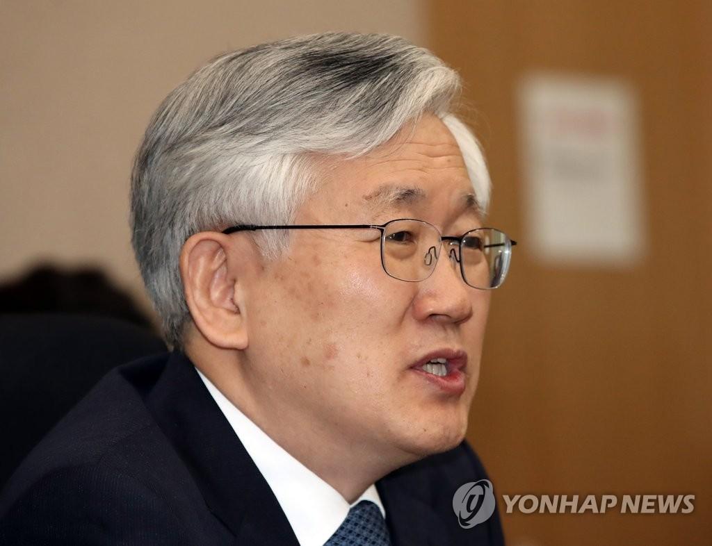 韩国新任驻日大使南官杓(韩联社)