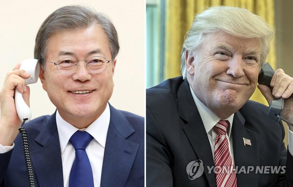 详讯:韩美首脑通话讨论尽快重启无核化谈判