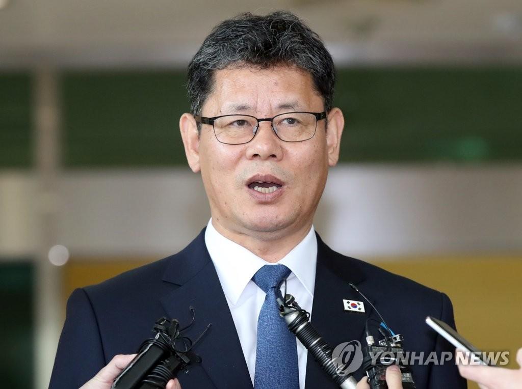 韩统一部长官:朝方有落实韩朝共识的意志