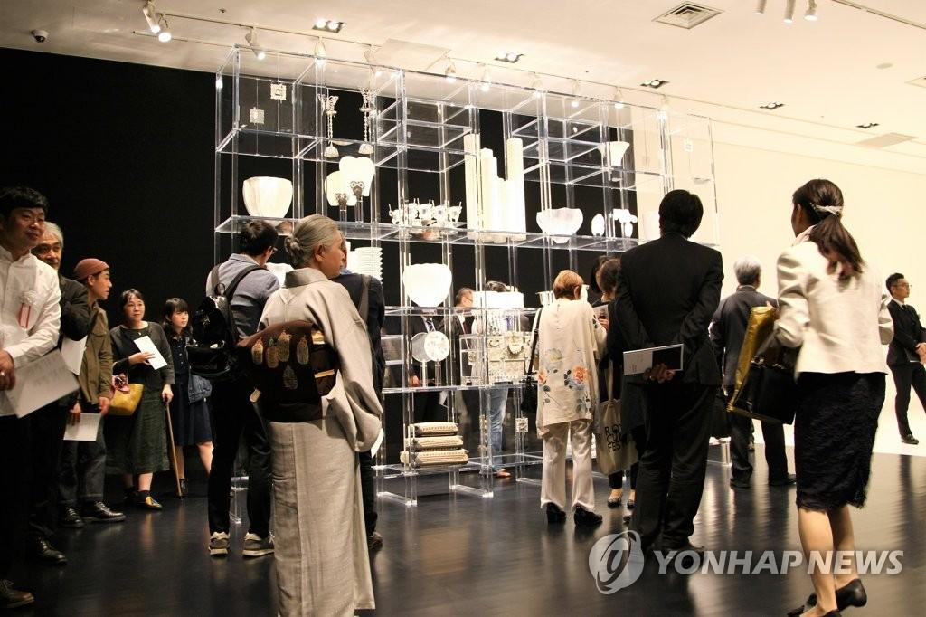 资料图片:驻日韩国文化院举行的韩国文化展(韩联社)