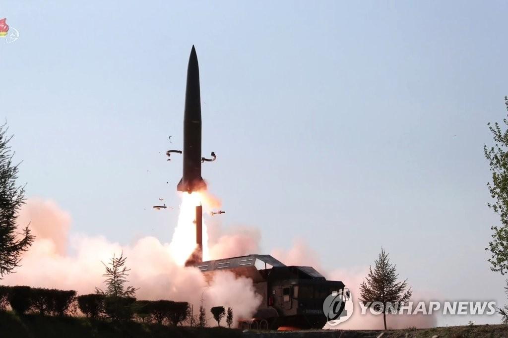 详讯:朝鲜发射2枚疑似新型导弹的飞行器