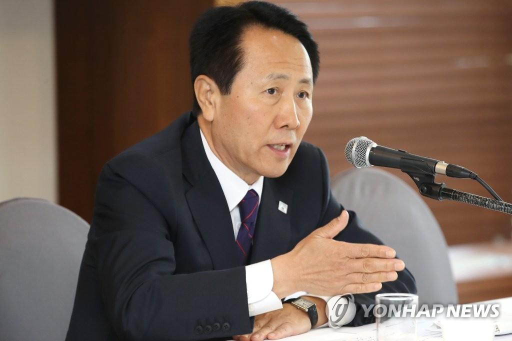 2019光州世游赛组委会秘书长赵泳泽(韩联社)