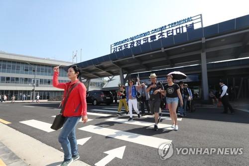 今年1-4月乘邮轮赴韩台湾游客同比大增八成