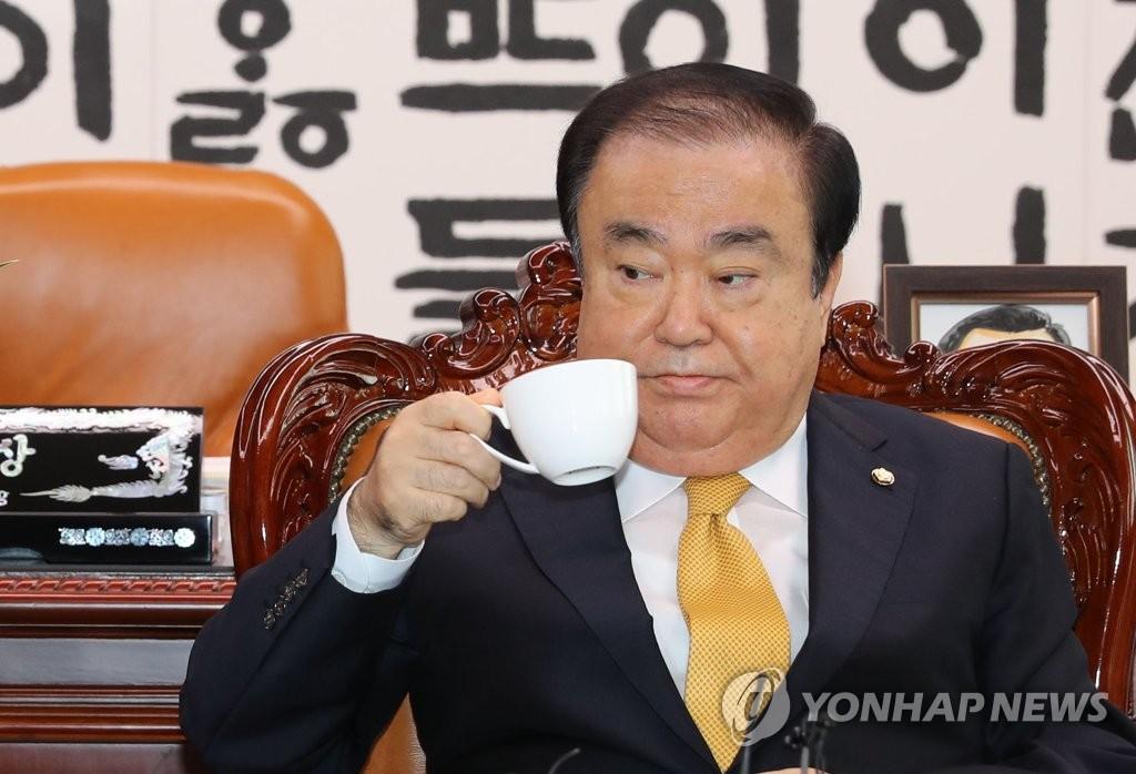 韩国议长文喜相担任韩日议会外交论坛名誉会长