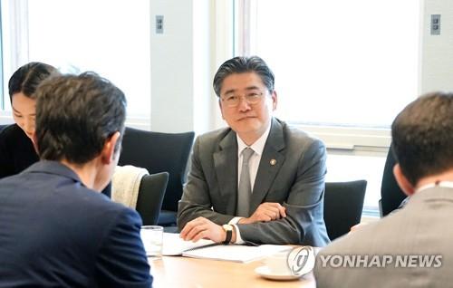 韩国产业部副部长在深圳与韩企代表座谈