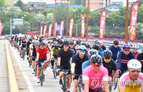 华川自行车拉力赛火热开赛