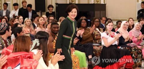 韩第一夫人:半岛和平就是韩朝骨肉重逢长相厮守