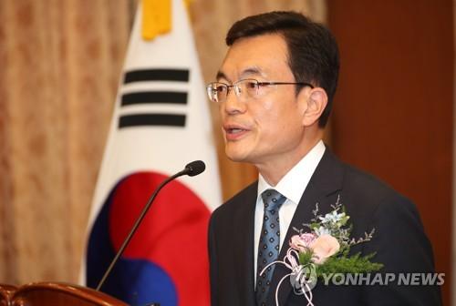 韩副外长履新:严处违法乱纪 力促半岛和平