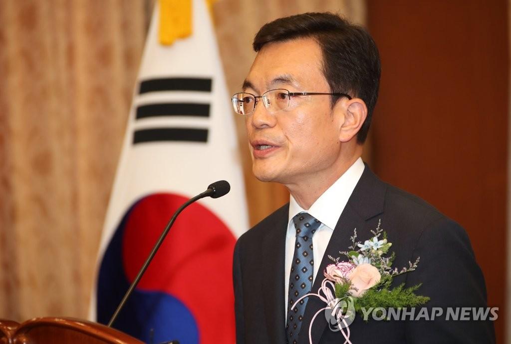 资料图片:韩国外交部第一次官(副部长)赵世暎 韩联社