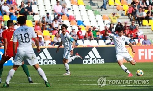 U20世青赛韩国0比1不敌葡萄牙