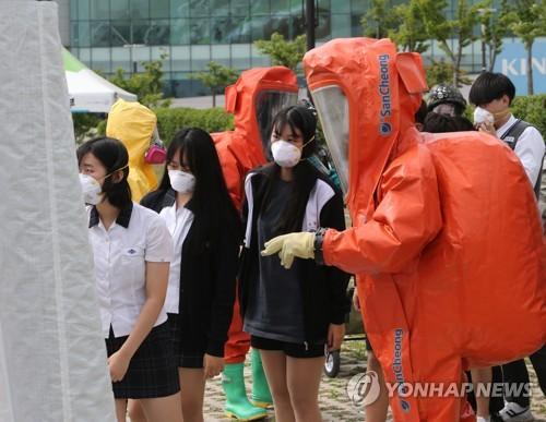 """韩国""""乙支太极""""官民军联演延至下半年实施"""