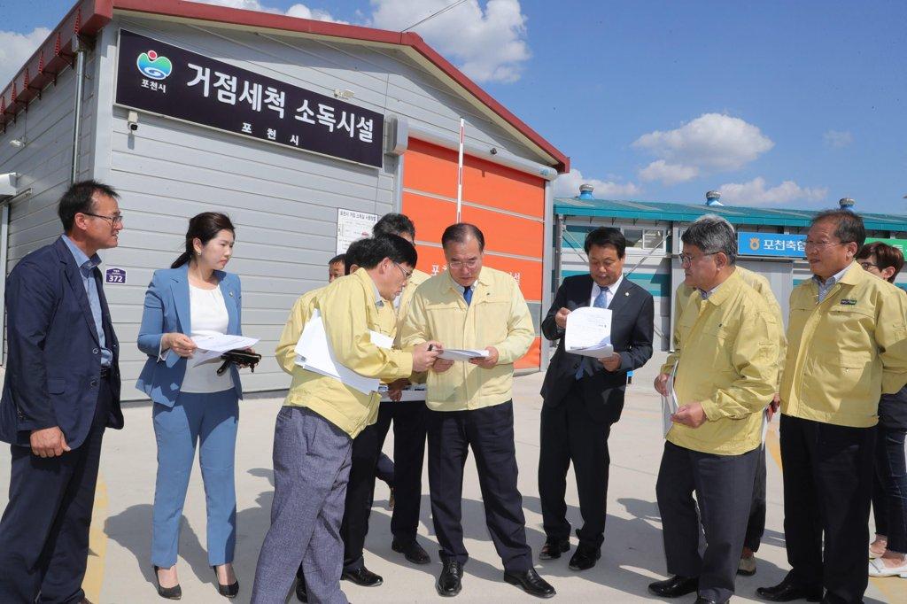韩统一部向朝提议合力防控非洲猪瘟
