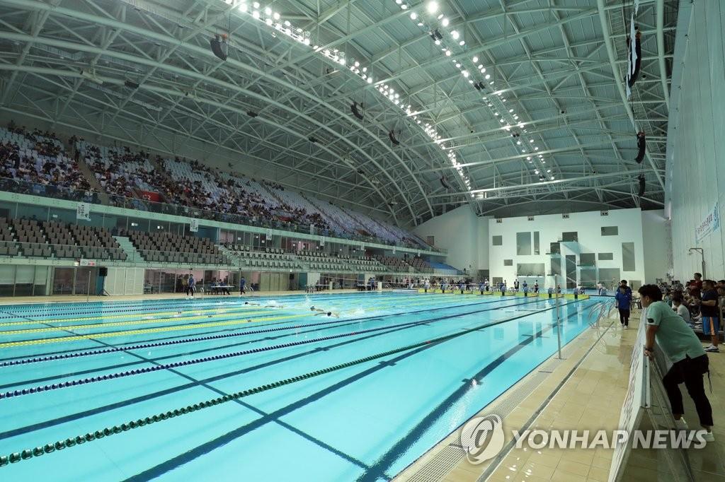2019光州世游赛场馆 韩联社