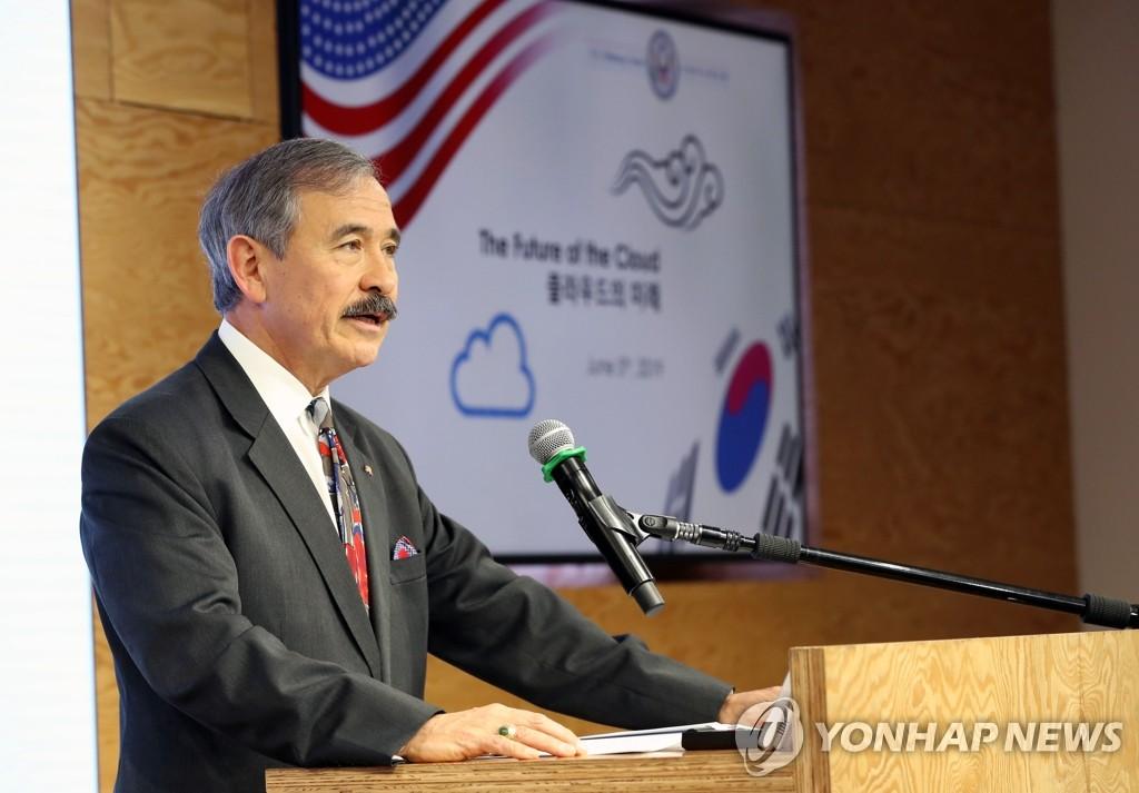 美驻韩大使吁韩企慎选5G供应商