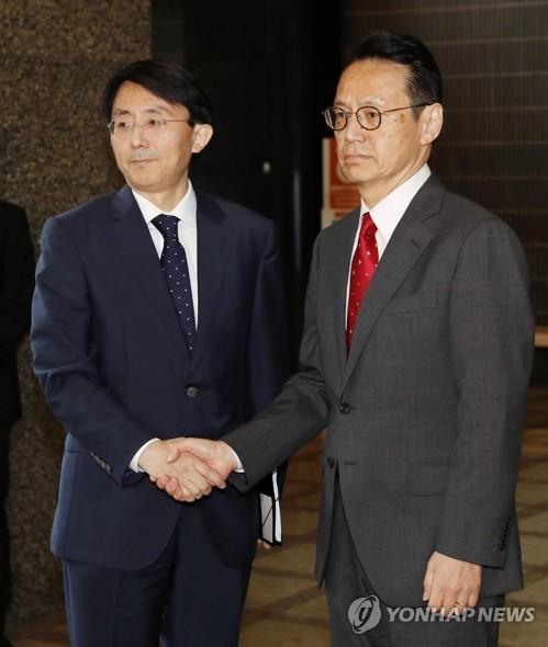 韩日举行局长级会议讨论矛盾化解方案