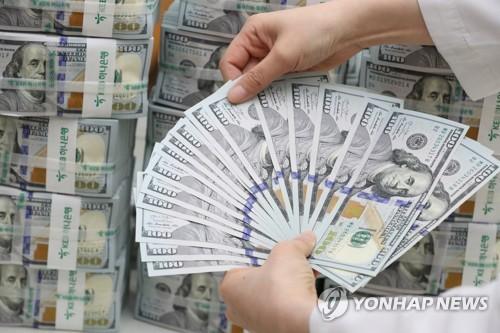 韩国8月外汇储备跌至近一年新低