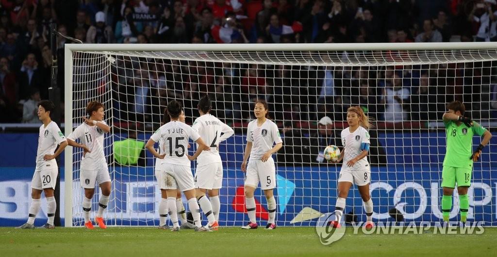 2019女足世界杯开幕 韩国0比4不敌法国