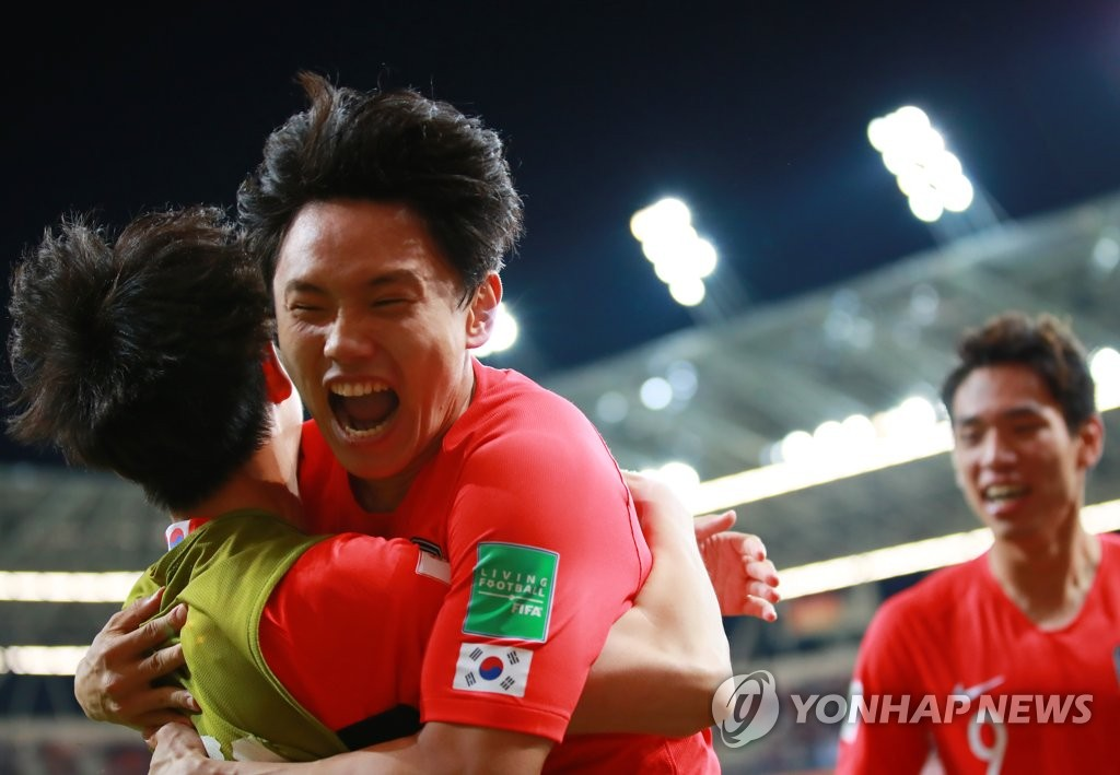 国际足联U20世界杯韩国战胜塞内加尔晋级四强