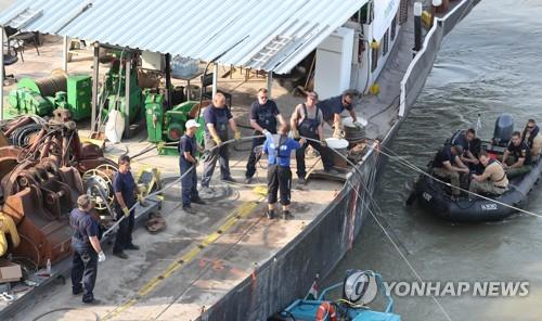 匈牙利沉船打捞有望11日上午启动