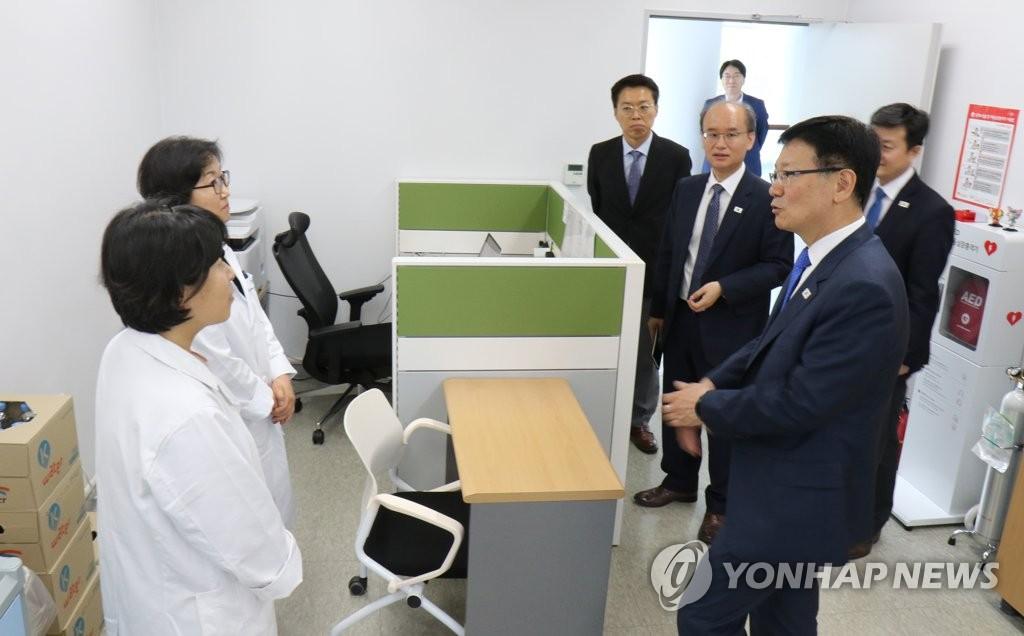 韩朝联办韩方主任明赴开城办公