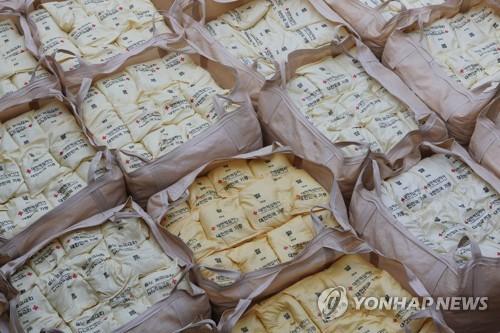 韩统一部:对朝粮援项目签约进入收官阶段
