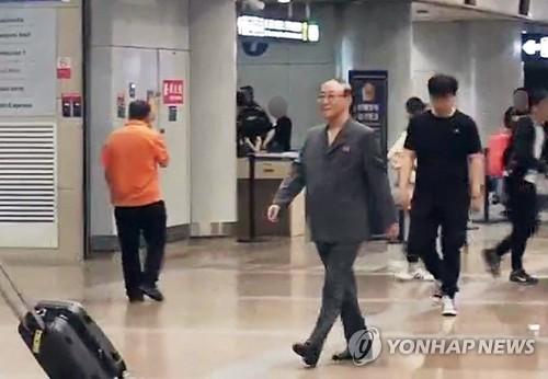 朝鲜驻华大使返京