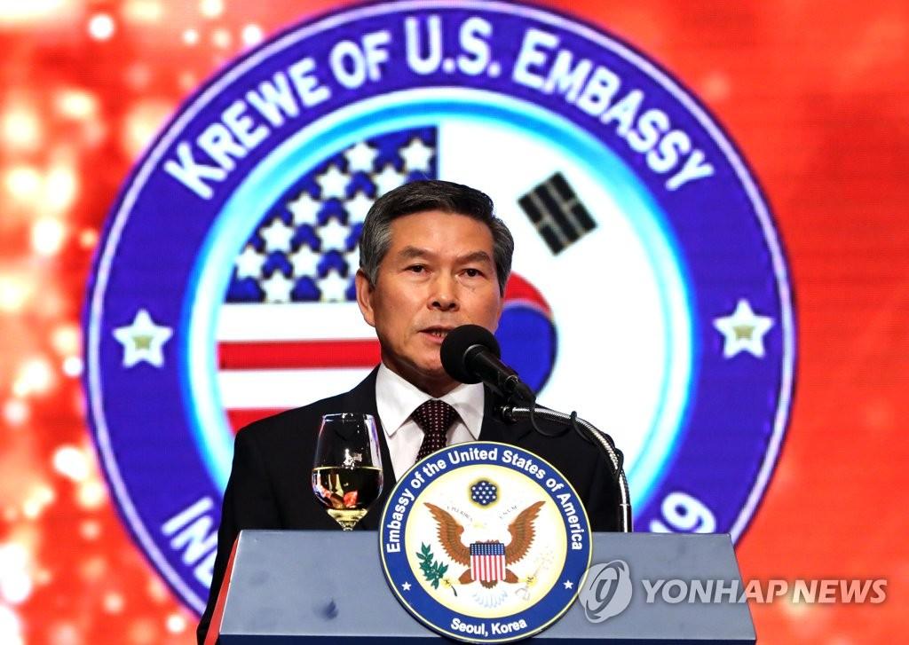 韩国防长与美国新任代理防长通电话