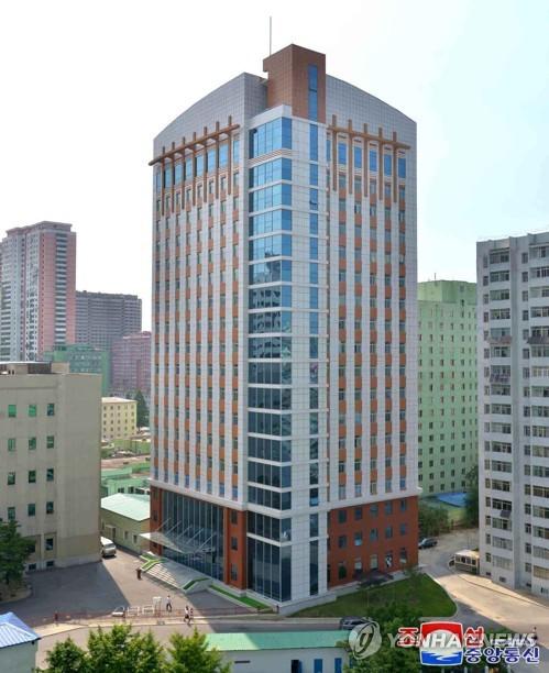 朝鲜未来科技院竣工