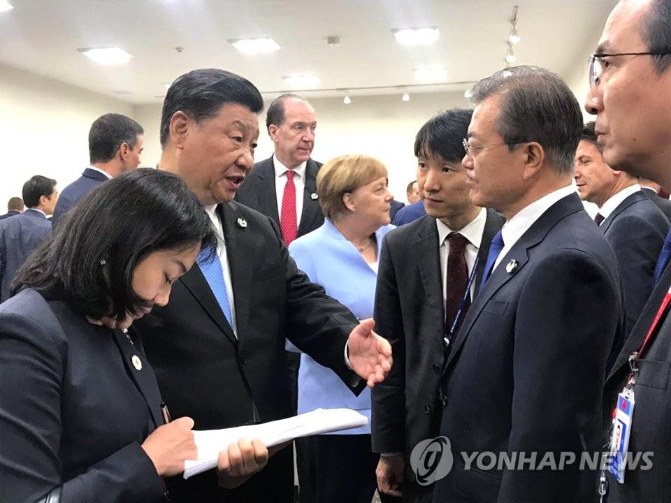 韩高官:韩中继续协商中国领导人访韩事宜