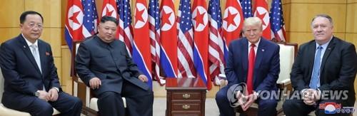 消息:朝鲜在板门店金特会上通报谈判代表人选