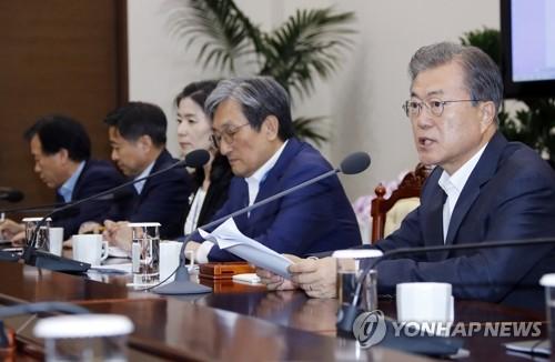 简讯:文在寅警告日本限贸阻韩发展作茧自缚
