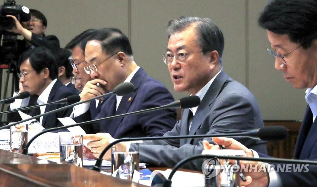 文在寅明与企业家座谈应对日本限贸措施