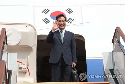 韩国总理李洛渊赴日出席日本国王德仁即位庆典