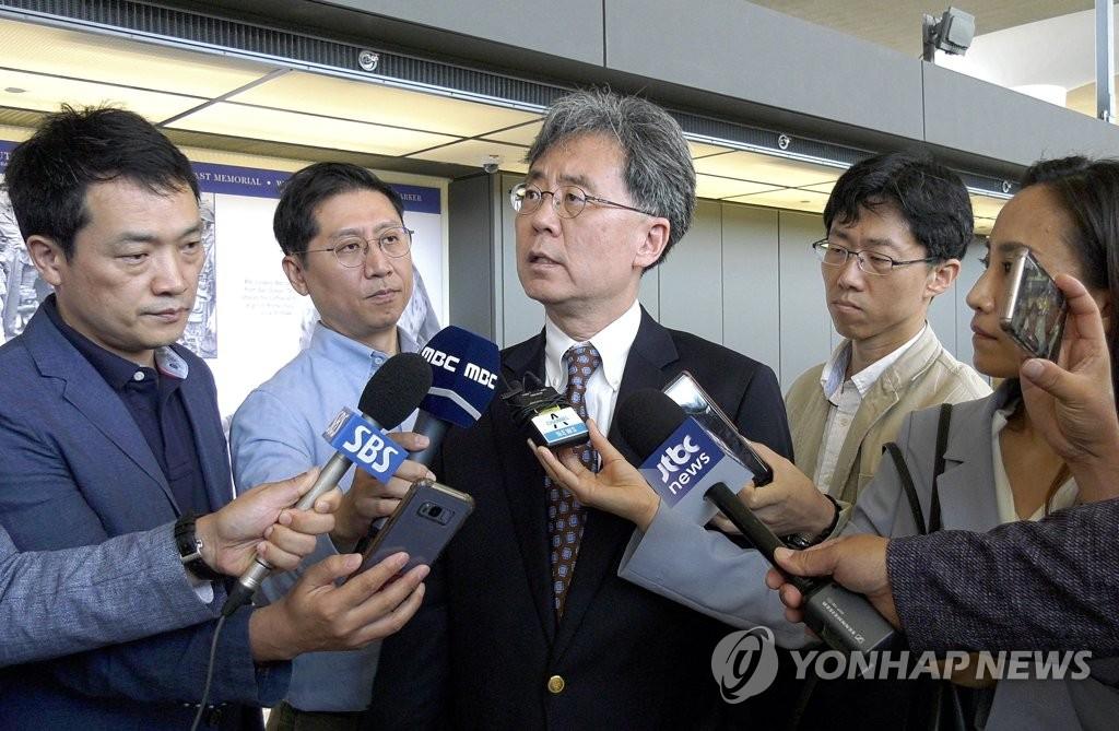 韩青瓦台高官访美或讨论韩朝合作事宜