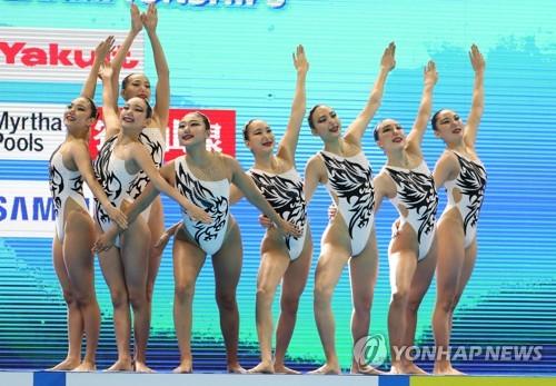 韩国艺游队参加预赛