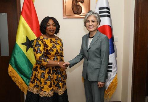 韩国加纳外长会晤