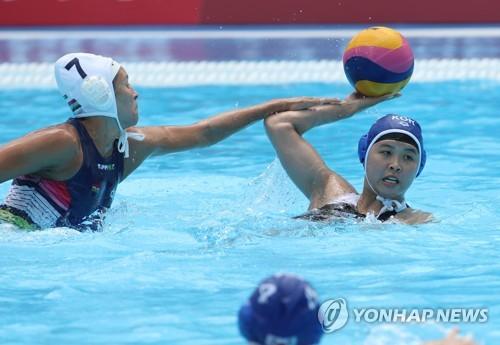 韩匈女子水球大战