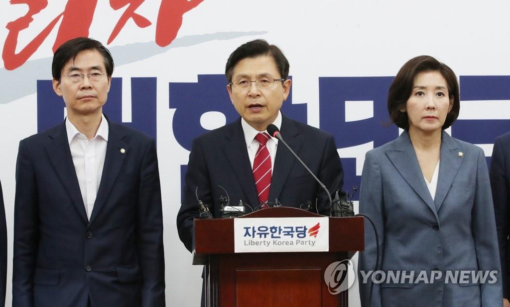 韩最大在野党党首愿与总统面谈日本限贸危机