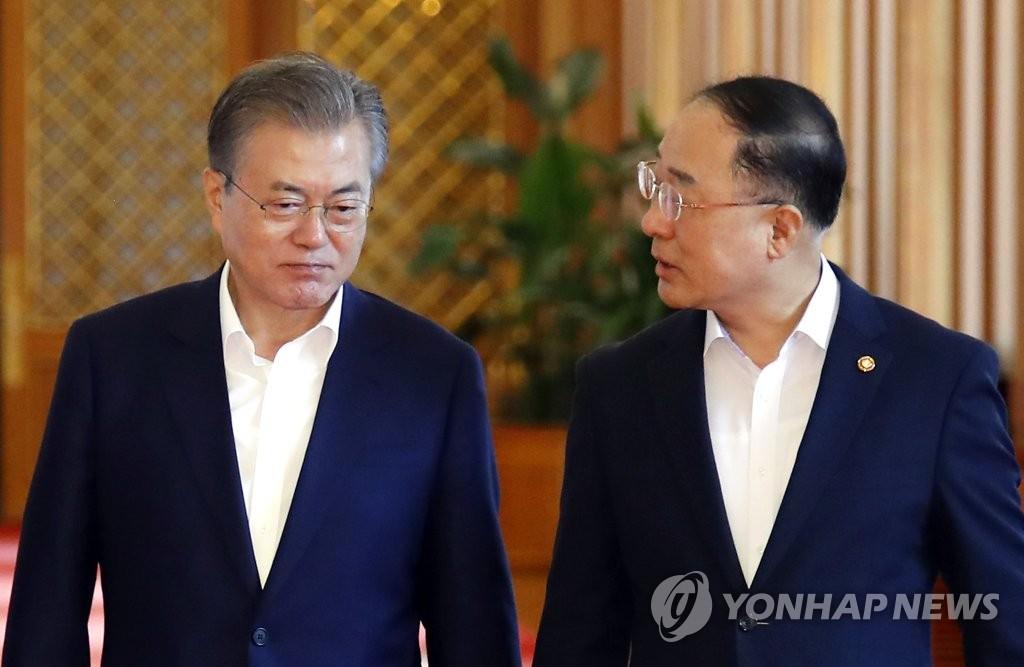 韩政府召开部长会议检查日本限贸应对情况