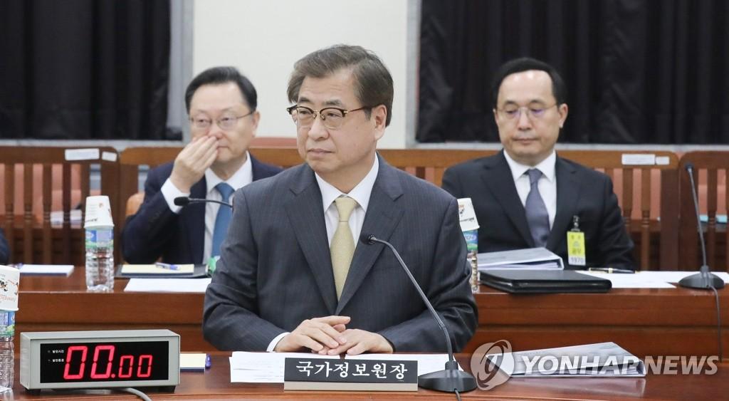 资料图片:韩国国情院院长徐薰 韩联社