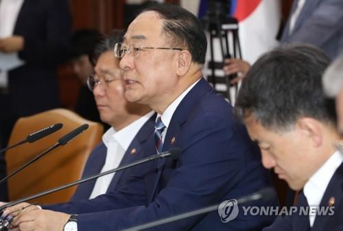 韩财长敦促日方撤销限贸措施