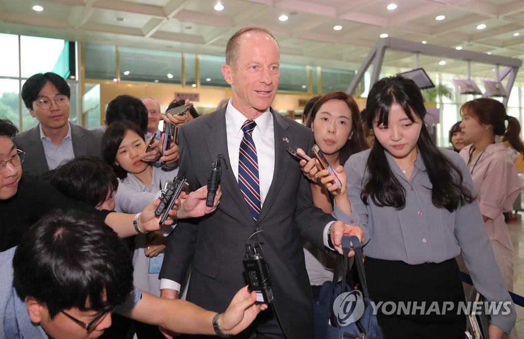 韩国国安高官会见美亚太事务助理国务卿